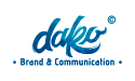 Dako Brand & Communication Logo