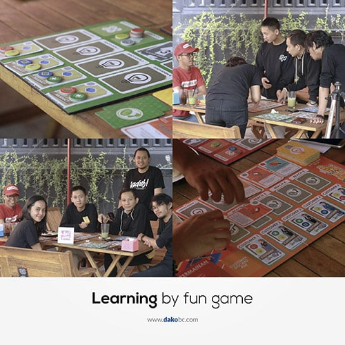 Learn and have fun at the same time with dako team